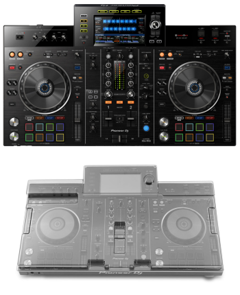 Pioneer XDJ-RX2 + Decksaver DS-PC-XDJRX2 Cover Bundle