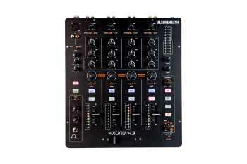 Allen & Heath Xone:43 - 4 Channel Analogue DJ Mixer
