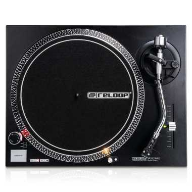 Reloop RP-2000 MK2 - Quartz-Driven DJ Turntable With Direct Drive