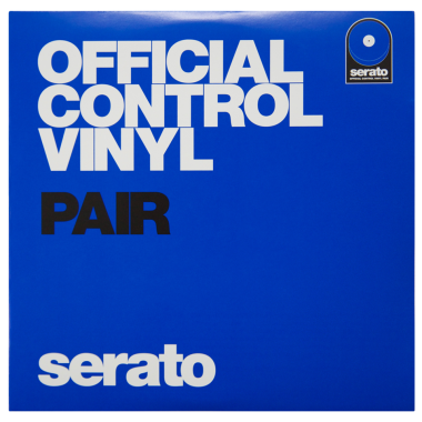 Serato 7'' Official ​Control ​Vinyl -​​ (Pair, Blue)