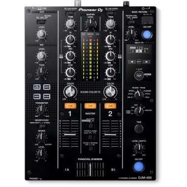 Pioneer DJM-450 - 2-Channel DJ Mixer