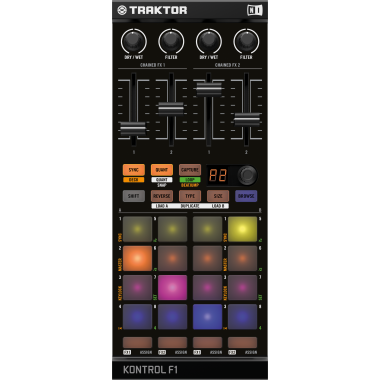 Traktor KONTROL F1 by Native Instruments (NI)