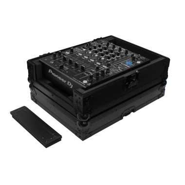 "Odyssey FZ12MIXXDBL All Black Universal 12"" Format DJ Mixer Case Pro-Duty With Extra Deep Rear Cable Space"