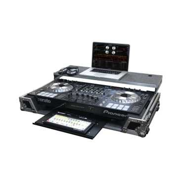 Odyssey Glide Style™ case with lower GT™ glide tray for Pioneer DDJ-SZ and DDJ-RZ - FZGSPIDDJSZGT