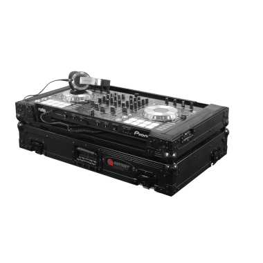 Odyssey Black Label™ Flight Zone® Case for Pioneer DDJ-SX2 & DDJ-RX - FZPIDDJSXBL
