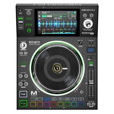 "Denon DJ SC5000M - Professional DJ Media Player with Motorized Platter and 7"" Multi-Touch Display"