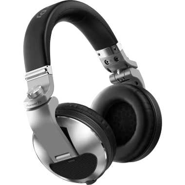 Pioneer HDJ-X10-S - Flagship Professional Over-ear DJ Headphones (Silver)