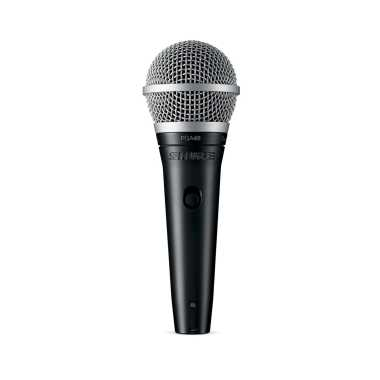 Shure PGA48-XLR - Cardioid Dynamic Vocal Microphone With XLR-XLR Cable