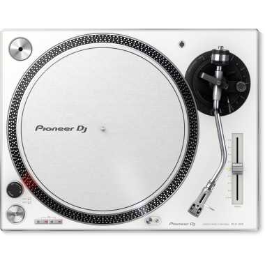 Pioneer PLX-500-W - Pre-Amplified Direct Drive Turntable + USB (White)