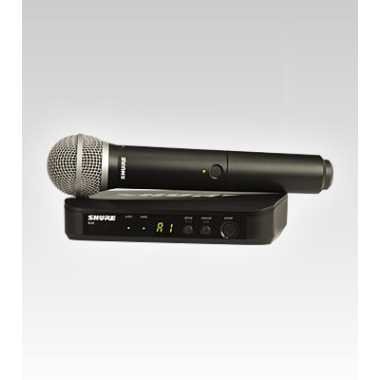Shure BLX24/PG58-H10 Handheld Wireless System