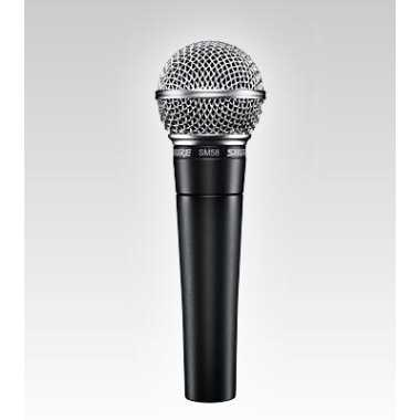 Shure SM58-LC Vocal Microphone - $10 Rebate