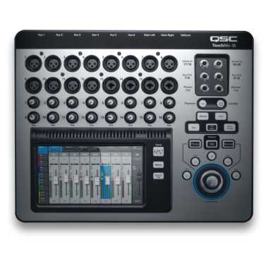 QSC TouchMix-16 - 22-Channel Compact Digital Mixer