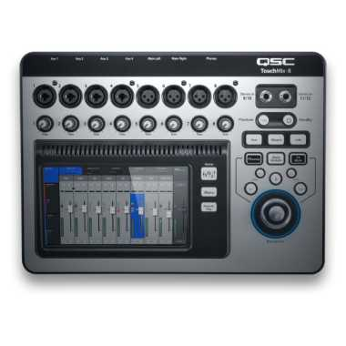 QSC TouchMix-8 - 14-Channel Digital Mixer