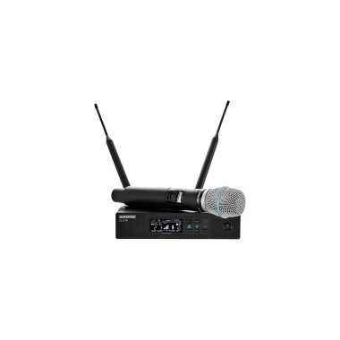 Shure QLXD24/B87A - Handheld Wireless Microphone System