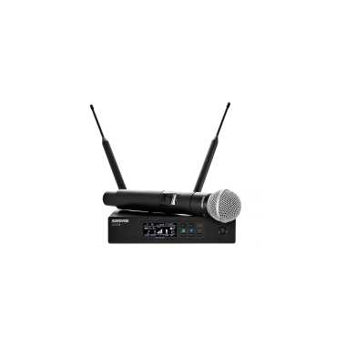 Shure QLXD24/SM58 - Handheld Wireless Microphone System