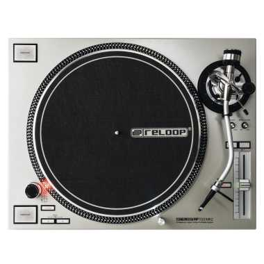 Reloop RP-7000 MK2 - Professional Upper Torque Turntable System (Silver)