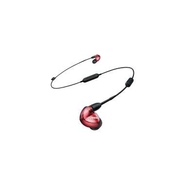 Shure SE535LTD+BT1 - Sound Isolating Bluetooth Wireless Earphones (Red, Special Edition)