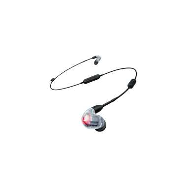 Shure SE846-CL+BT1 - Sound Isolating Bluetooth Wireless Earphone (Clear)