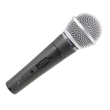 Shure SM58S Vocal Microphone With On/Off Switch - $10 Rebate