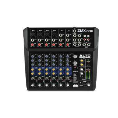 Alto ZMX122FX - 8-Channel Compact Mixer With Effects