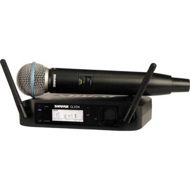 Shure GLXD24/BETA58A-Z2 Handheld Wireless System