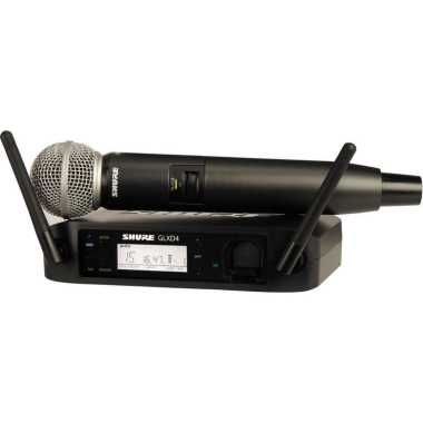 Shure GLXD24/SM58 Handheld Wireless System -  $30 Rebate