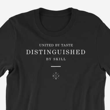 "The DJ Hookup ""United/Distinguished"" Premium Tee (Multiple Sizes Available)"