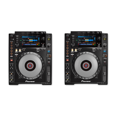 Pioneer DJ 2x CDJ-900 Nexus Bundle