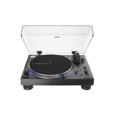 Audio-Technica AT-LP140XP - Direct-Drive Professional DJ Turntable (Black)