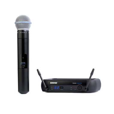 Shure PGXD24/BETA58A-X8 Handheld Wireless System
