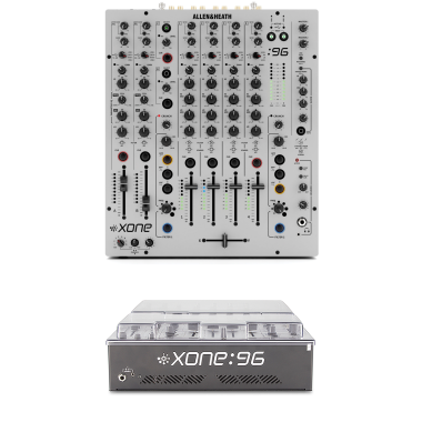 Allen & Heath Xone:96 + Decksaver DS-PC-XONE96 Cover Bundle