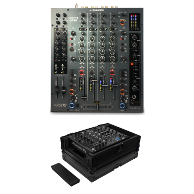 Allen & Heath: Xone:92 + Odyssey FZ12MIXXDBL Case Bundle