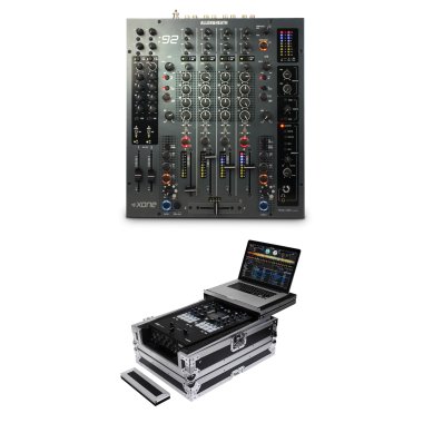 Allen & Heath Xone:92 + Odyssey FZGS12MX1XD Case Bundle