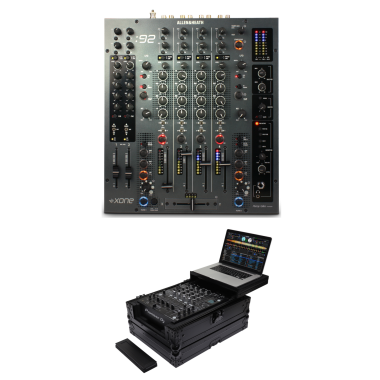 Allen & Heath Xone:92 + Odyssey FZGS12MX1XDBL Case Bundle
