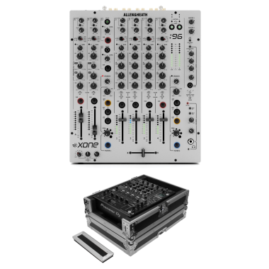 Allen & Heath Xone:96 + Odyssey FZ12MIXXD Case Bundle