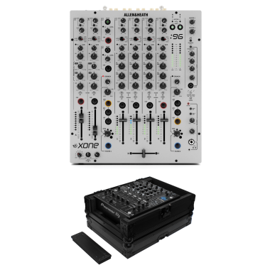 Allen & Heath Xone:96 + Odyssey FZ12MIXXDBL Case Bundle