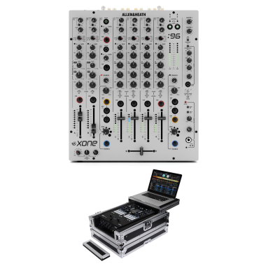 Allen & Heath Xone:96 + Odyssey FZGS12MX1XD Case Bundle