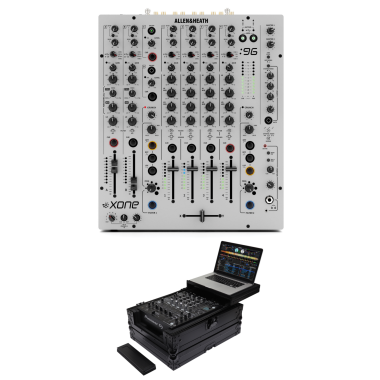 Allen & Heath Xone:96 + Odyssey FZGS12MX1XDBL Case Bundle