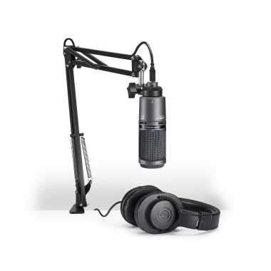 Audio-Technica AT2020USB+PK - Streaming/Podcasting Pack