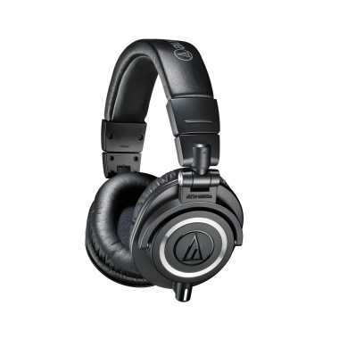 Audio-Technica ATH-M50x - Professional Monitor Headphones (Black)