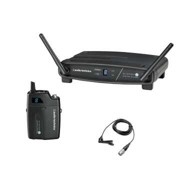 Audio Technica ATW-1101/L - System 10 Digital Wireless Lavalier Microphone Set