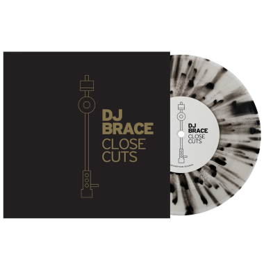 "Serato 7'' DJ Brace ""Close Cuts"" Vinyl (Single)"