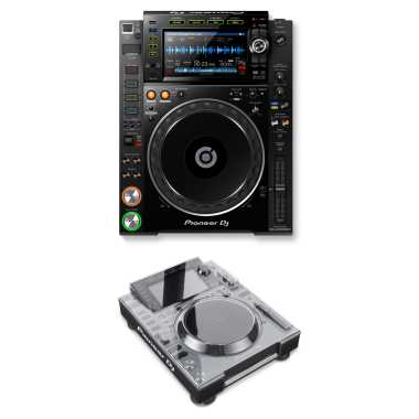 Pioneer CDJ-2000NXS2 Professional Multi player + Decksaver DS-PC-CDJ2000NXS2 Bundle