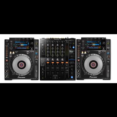 Pioneer DJ CDJ-900 Nexus + Pioneer DJ DJM-750MK2 Mixer Bundle