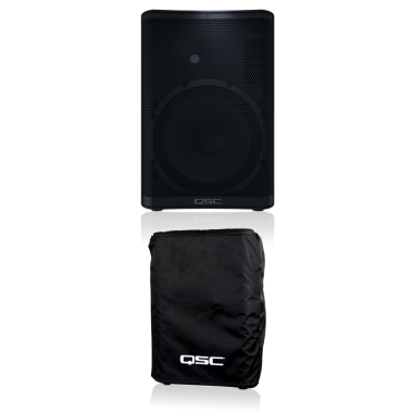 QSC CP12 + FREE CP12 Cover Bundle
