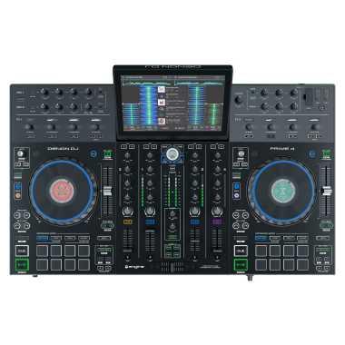 Denon DJ Prime 4 - 4-Deck Standalone DJ System With 10-inch Touchscreen