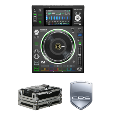 """Denon DJ SC5000M """"PROtection"""" Bundle with Case and 2 Year Accidental Warranty"""