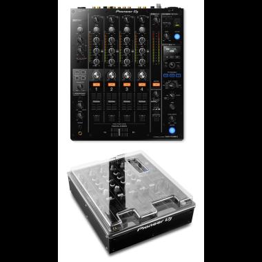 Pioneer DJM-750MK2 Mixer + Decksaver DS-PC-DJM750MK2 Cover Bundle