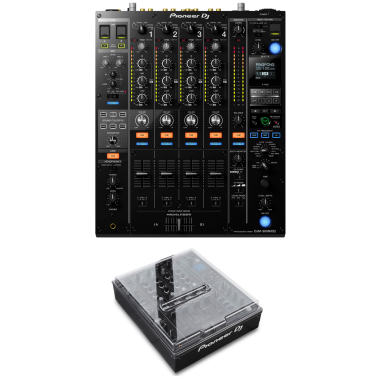 Pioneer DJM-900NXS2 Mixer + Decksaver DS-PC-DJM900NXS2 Bundle