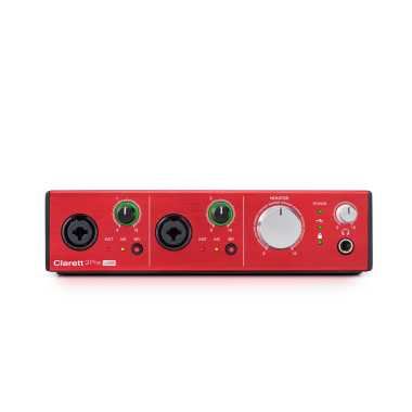 Focusrite Clarett 2Pre USB - 10-in, 4-Out Audio Interface